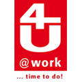 Logo 4U @work GmbH in Leverkusen